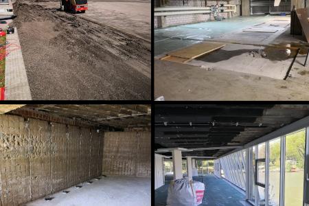 es geht rund – Baubeginn in der Kongresshalle Böblingen